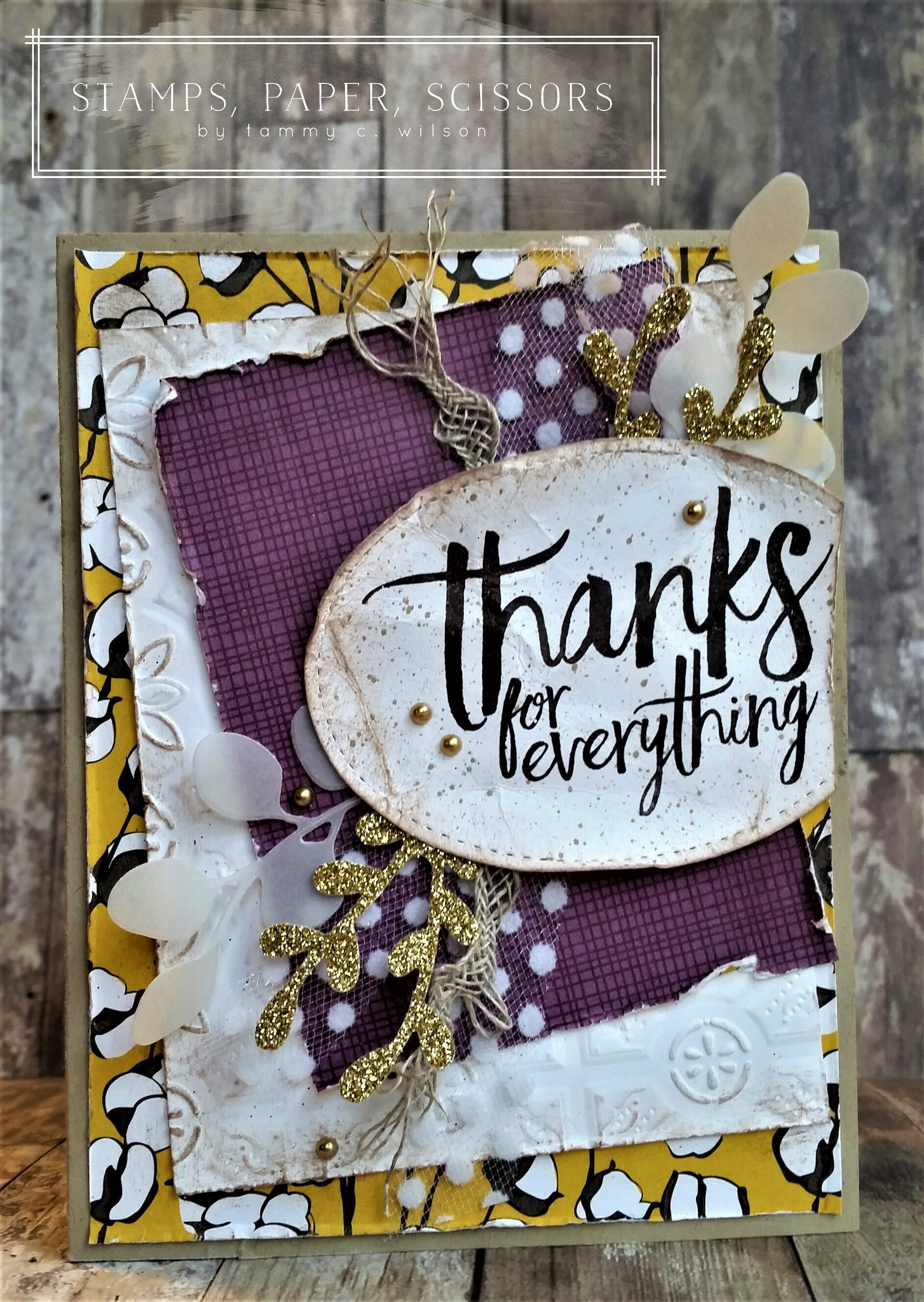 All Things Thanks - Thanks for Everything by Tammy C. Wilson