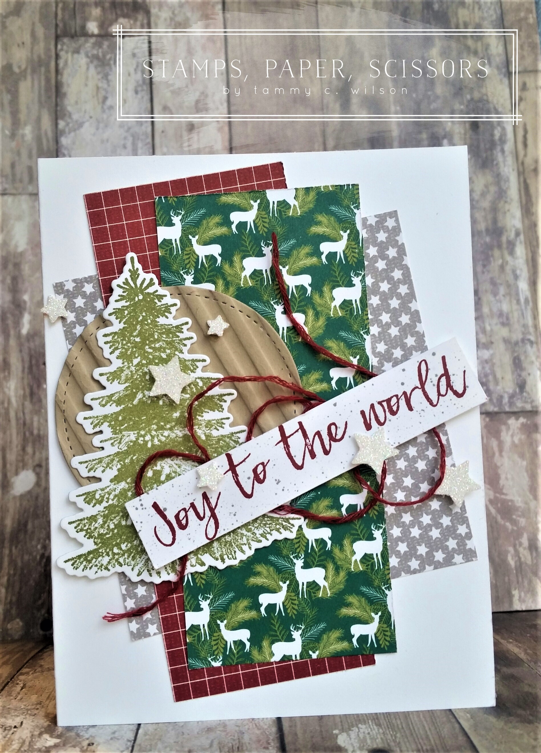 In the Woods - Joy to the World by Tammy C. Wilson