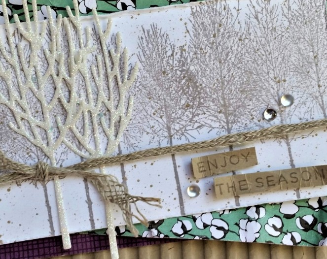 Winter Woods - Enjoy the Season by Tammy C. Wilson (zoom)