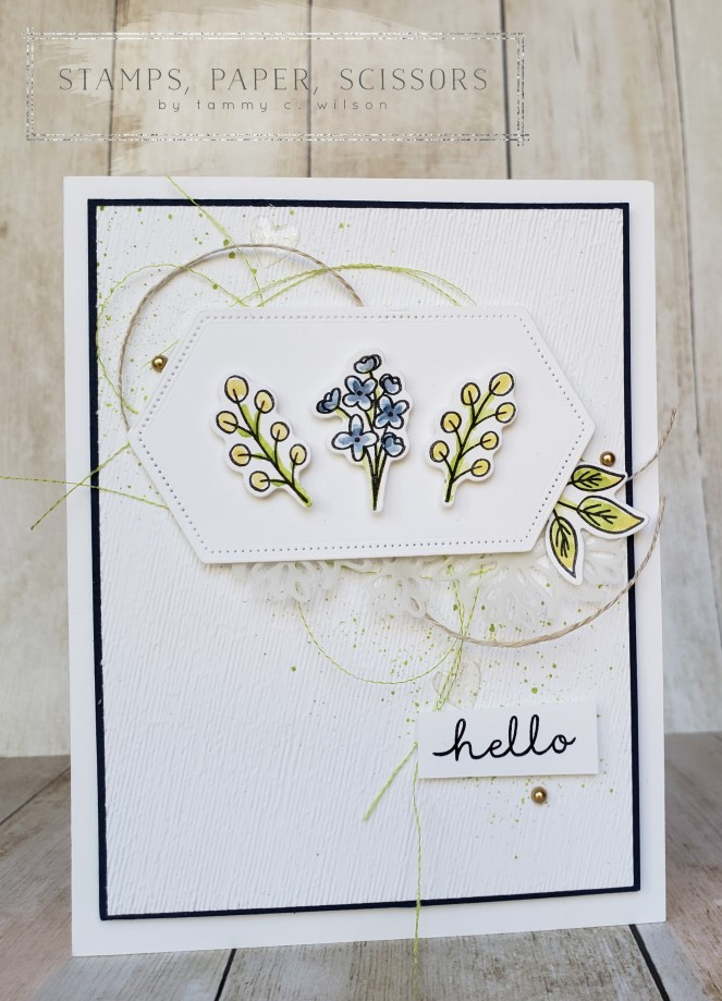 Bloom & Grow - Stitched Nested Labels by Tammy C. Wilson