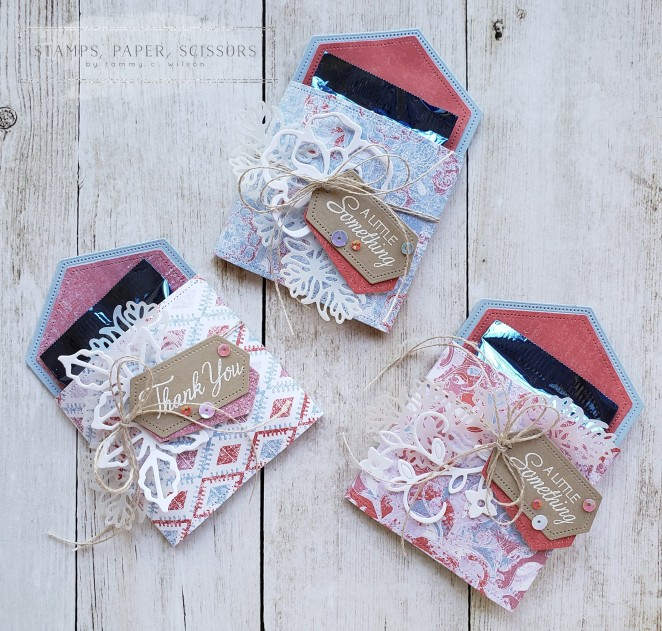 Stitched Nested Labels - Woven Threads - Parcels & Petals by Tammy C. Wilson