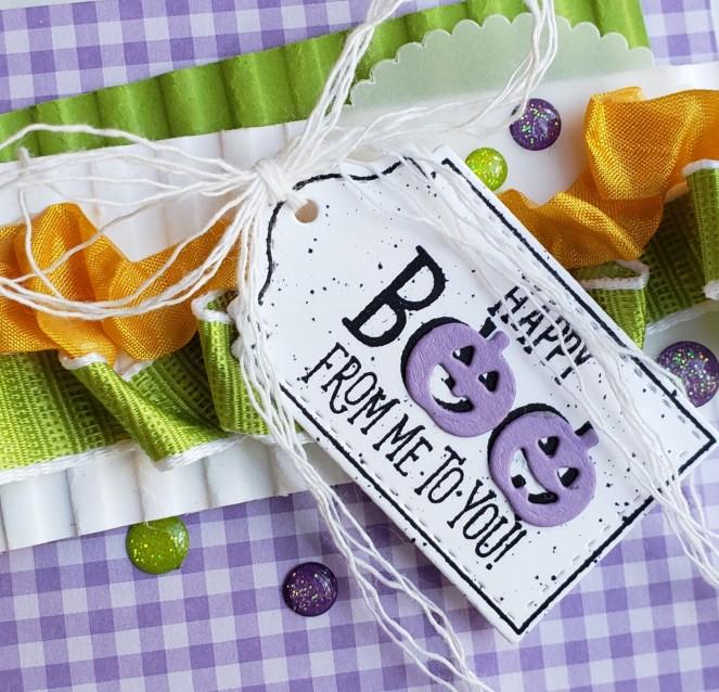 Tags Tags Tags - Halloween - Mini Pizza Box by Tammy C. Wilson (xoom)