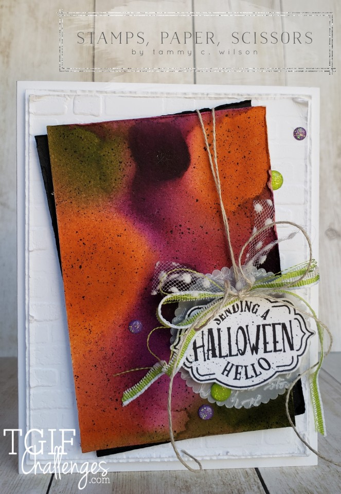 Tags Tags Tags - Halloween - TGIF by Tammy C. Wilson
