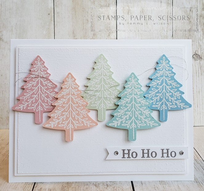 Perfectly Plaid - Trees - Ho Ho Ho by Tammy C. Wilson