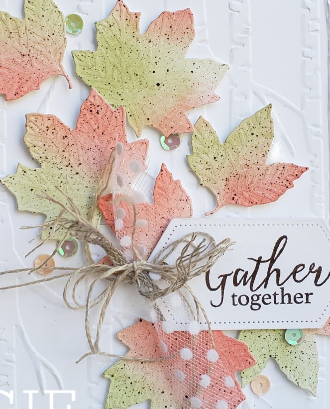 Gather Together - Leaves by Tammy C. Wilson (zoom)