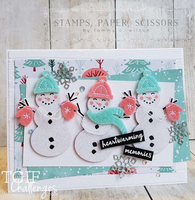 Snowman Season - Let It Snow - TGIF by Tammy C. Wilson