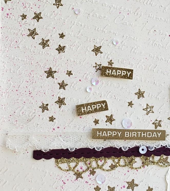 Label Me Bold - Happy Birthday by Tammy C. Wilson (zoom)