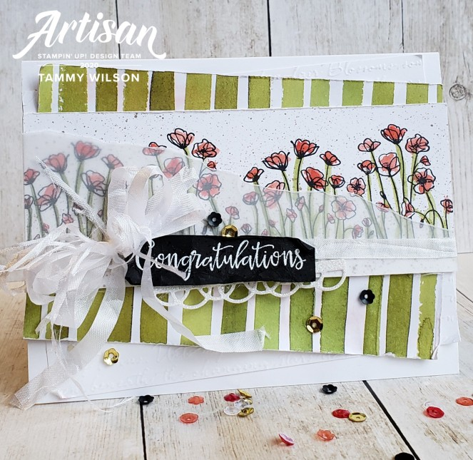 Artisan February 2020 - Peaceful Poppies - Card by Tammy C. Wilson