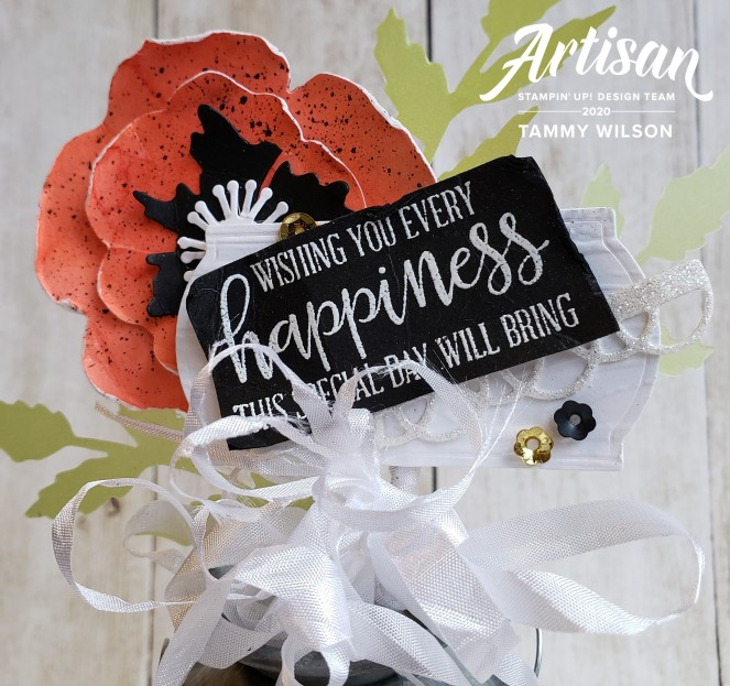 Artisan February 2020 - Peaceful Poppies - Milk Can by Tammy C. Wilson (zoom)