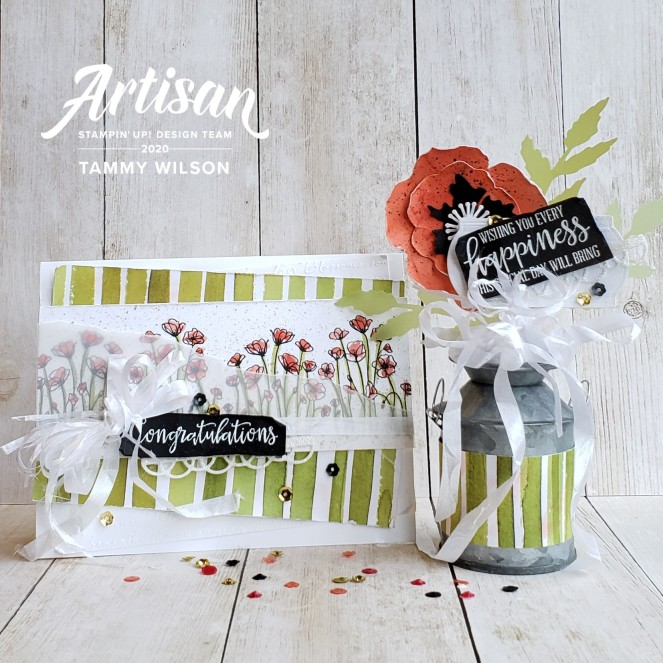 Artisan February 2020 - Peaceful Poppies - Tammy C. Wilson