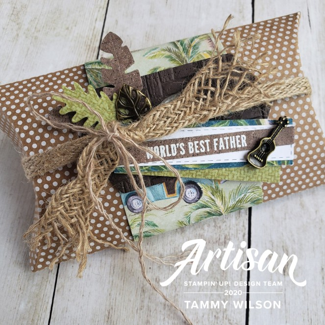 Timeless Tropical - Tropical Oasis - Box - by Tammy C. Wilson