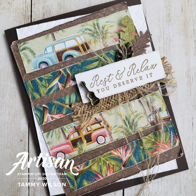 Timeless Tropical - Tropical Oasis - Card - by Tammy C. Wilson