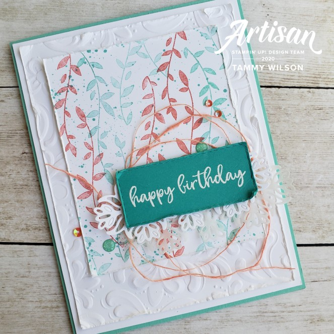 Botanical Bliss - Parisian Flourish by Tammy C. Wilson