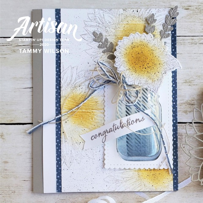 Flowers for Every Season - Celebrate Sunflowers - Card - watermark by Tammy C. Wilson
