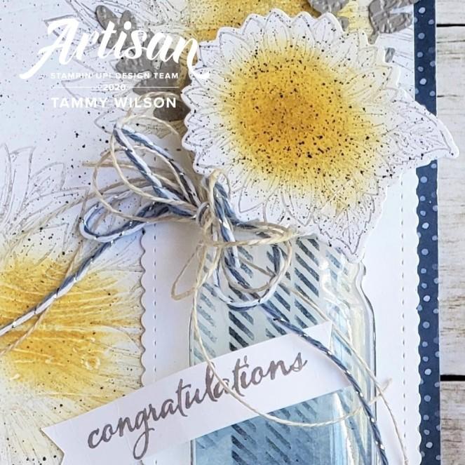 Flowers for Every Season - Celebrate Sunflowers - Card - watermark by Tammy C. Wilson (zoom)