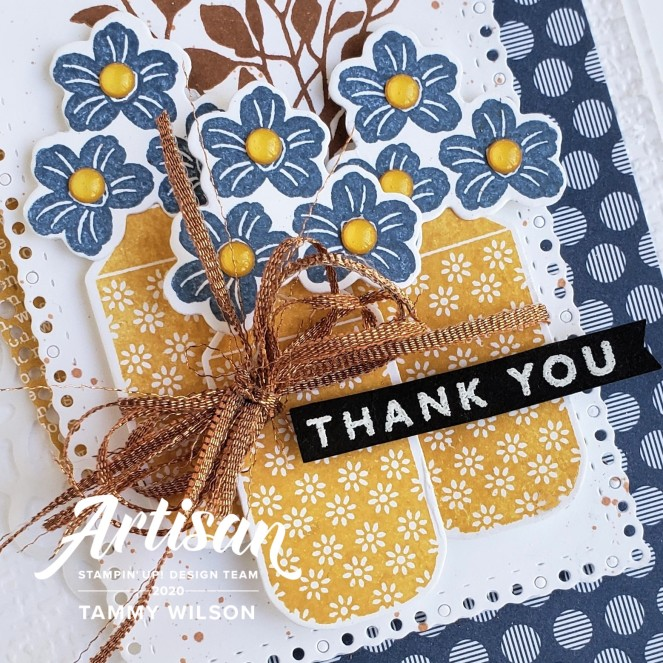 Boho Indigo - Thank You by Tammy C. Wilson (zoom)