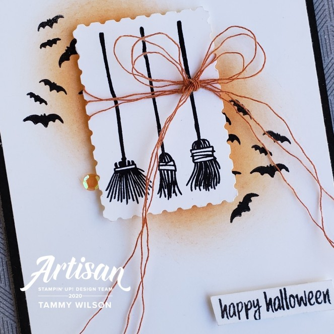 Festive Post - Happy Halloween by Tammy C. Wilson (zoom)