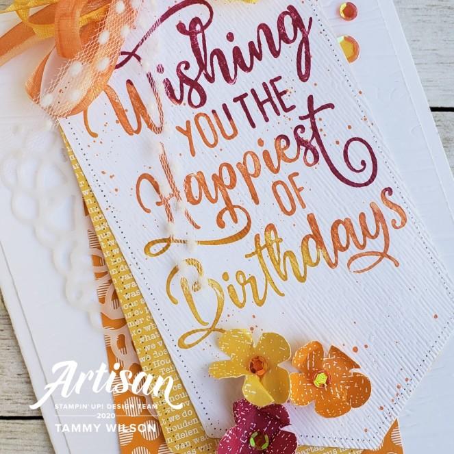 Happiest of Birthdays by Tammy C. Wilson (zoom)